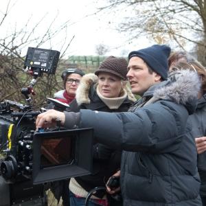 Thomas Vinterberg under inspelningen av Jakten. Foto: Nordisk film.