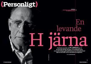 Intervju med Henry Moore Selder är en del av Lotten Wiklunds PC Jersild-porträtt i Modern Psykologi 1/2014.