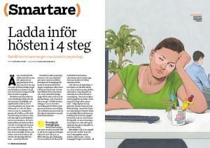 Katarina Bloms artikel har publicerats i Modern Psykologi 6/2014, ute nu.