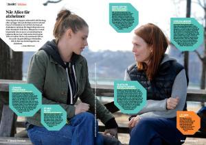 Alice Howland (Julianne Moore) och dottern Lydia (Kristen Stewart). Foto: Jojo Whilden/BSM Studio